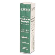 Medline Ind. Caring Cotton Filled Dental Sponge