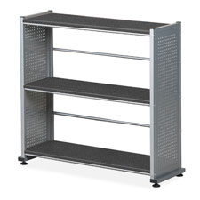 Mayline 995ANT Bookcase 5-Shelf, 31-1/4'', 11'' x 58'', Anthracite, MLN995ANT, MLN 995ANT