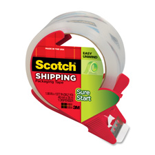 3M Scotch Sure Start Easy Unwind Packaging Tape
