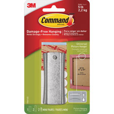 3M Command Sticky Nail Sawtooth Metal Hanger