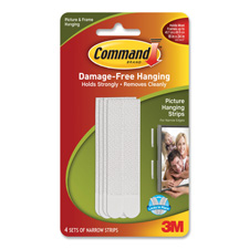 3M Narrow Picture Hanging Strips