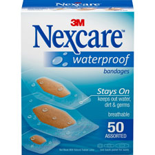 3M Nexcare Clear Waterproof Bandages