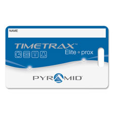 Pyramid Timetrax Prox Time Card Badges