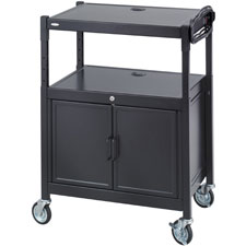 Safco Steel Adjustable AV Carts