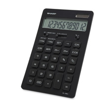 Sharp Semi-desktop Slim Line Calculator