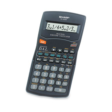 Sharp 10-digit Scientific/fraction Calculator