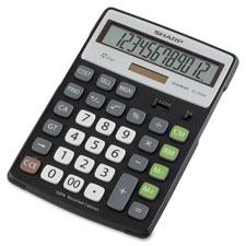 Sharp Semi-desk 4-Key Memory Recycled Calculator