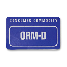 Tatco Consumer Community/ORM-D Shipping Labels
