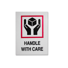 Tatco Handle With Care Shipping Labels