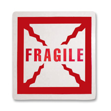 Tatco Fragile Shipping Label