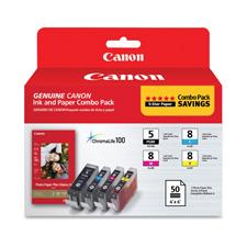 Canon PGI5CLI8CMY Ink Tank Cartridges