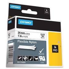 Dymo 1 Flexible Nylon Rhino Label Tape