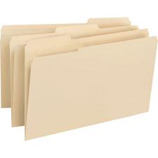 Smead 1/3 Cut Legal Size File Folders