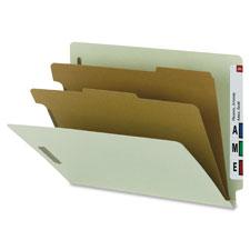 Smead End-Tab 2-Divider Classification Folders