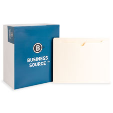 Bus. Source 1.5' Expanding 2-Ply File Pockets