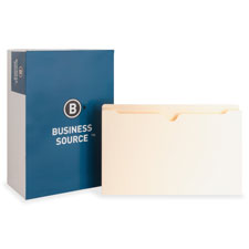 Bus. Source 2' Expanding 2-Ply File Pockets