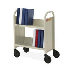 Bretford 2-Shelf Single-sided Book Truck