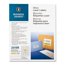 "Mailing labels,return address,laser,1/2""x1-3/4"",8000/pk,we, sold as 1 package, 2000 each per package"