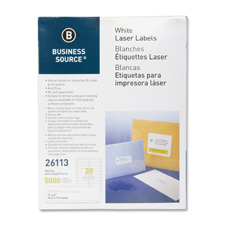"Mailing labels, laser, 1""x4"", 2000/pk, white, sold as 1 package, 750 each per package"