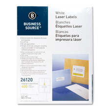 "Mailing labels,shipping,laser,3-1/2""x5"",400/pk,white, sold as 1 package, 100 each per package"