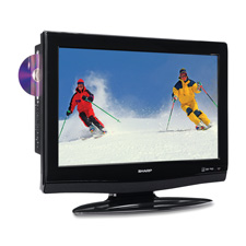 Sharp 26' LCD DVD TV