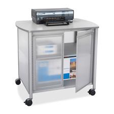 Safco Impromptu Deluxe Machine Stand w/ Doors