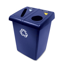 Rubbermaid 1/2 Recycling Station