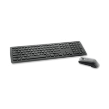 "Wireless keyboard/mouse, 15-7/8""x5-1/2""x1/2"", black, sold as 1 each"