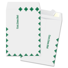 "Catalog envelopes, 1st class, 10""x15"", 100/bx, white, sold as 1 box, 100 each per box"