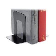 "Bookend supports, standard, 4-3/4""x5-1/4""x5"", black, sold as 1 pair, 100 each per pair"