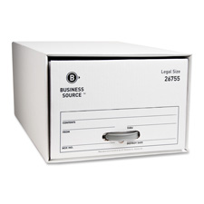 "Storage drawer, letter, 12-1/2""x23-1/2""x10-1/4"", 6/ct, we, sold as 1 carton, 12 each per carton"