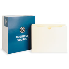 Bus. Source 2-Ply Vertical Filing Pockets