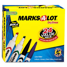 Avery Marks-A-Lot Dry-erase Combo Pack Markers