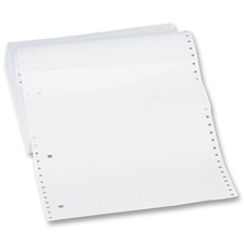 "Computer paper,1/2""perf.,18 lb.,9-1/2""x11"",2600 sht/ct,we, sold as 1 carton"