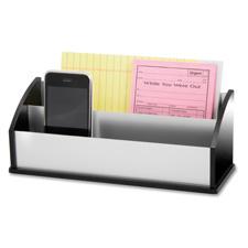Letter/message sorter, black acrylic/aluminum, sold as 1 each