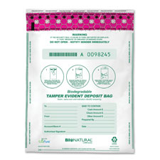 MMF Industries Biodegradable White Deposit Bags