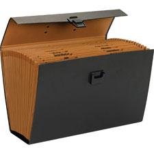 Smead 19 Pocket Expanding File Case w/ Handle