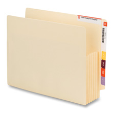 Smead Convertible End-tab File Pockets