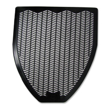 Deodorizing urinal mat, black, sold as 1 each, 50 each per each
