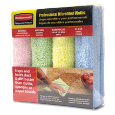 Rubbermaid Professional Microfiber Cloths