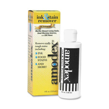 Ink and stain remover, 4 oz., white, sold as 1 each