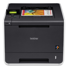 Brother HL4150CDN Color Laser Printer, 16'' x 19'' x 12-3/10'', Black/Gray, BRTHL4150CDN, BRT HL4150CDN