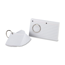 Esselte Two-Hole Punched Index Cards
