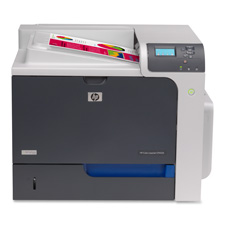 Hewlett Packard CC493A LaserJet Printer, Color, 21-3/10'' x 2-3/5'' x 16-1/5'', GY/BK, HEWCC493A, HEW CC493A