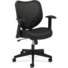 Basyx Mesh Mid-back Fabric Seat Chair