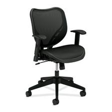Basyx Mesh Mid-Back Chair