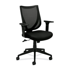 Basyx Individual Fit Mesh Back Managerial Chair