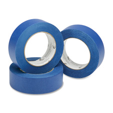 "Painters tape roll, crepe backing, 2""x60 yds, 5.7mil., blue, sold as 1 roll, 80 roll per roll"