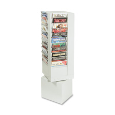 Buddy 44 Pkt Four-sided Rotating Literature Rack