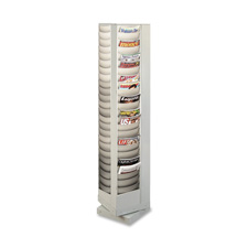 Buddy 92 Pkt Four-sided Rotating Literature Rack